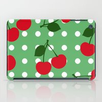 cherry iPad Cases featuring cherry by vitamin
