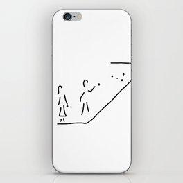 boule petanque boules boccia player iPhone Skin