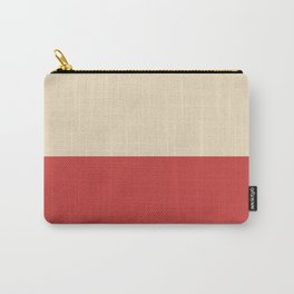 Dutch White/Lava Carry-All Pouch