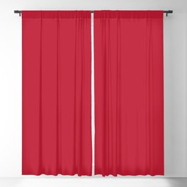True Red - Color of the year 2002 Blackout Curtain