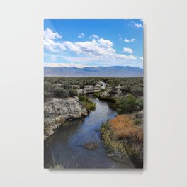 Bog Hot Springs Metal Print