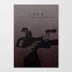 LÉON: THE PROFESSIONAL Canvas Print