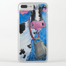 Cattle Call Clear iPhone Case