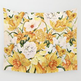 Wordsworth  and the daffodils. Wall Tapestry