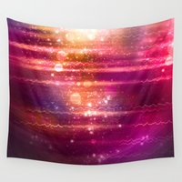 halo Wall Tapestries featuring Sun Halo by Tom Lee