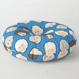 The Golden Girls Blue Pop Art Floor Pillow
