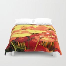 Californian Poppies Duvet Cover