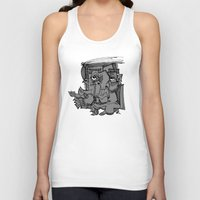 gnome Tank Tops featuring Gnome by 5wingerone