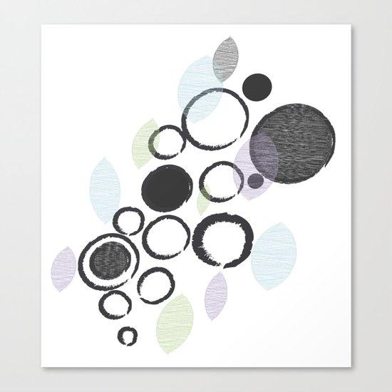 Bubbling Canvas Print