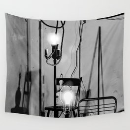 Isolation lights  Wall Tapestry