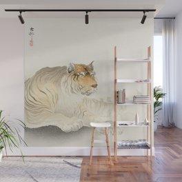Ohara Koson - Tiger Wall Mural
