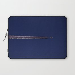 Jet and Contrail Laptop Sleeve