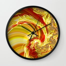 Dragon Trail Wall Clock