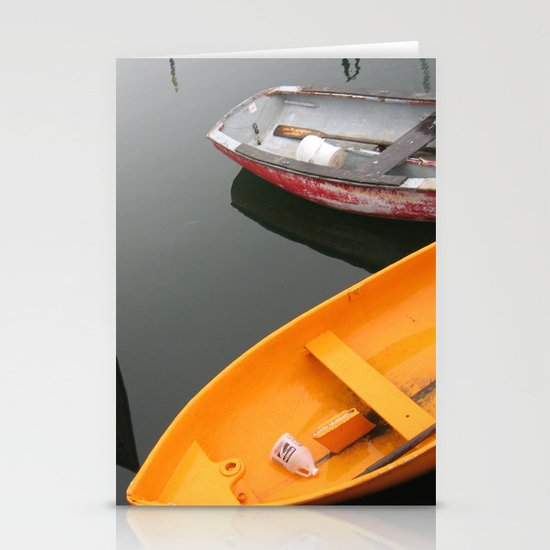 Rockport Rowboats 2 Stationery Cards