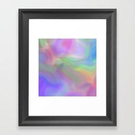 Soft and Pretty Framed Art Print