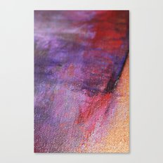 Red Vastness Canvas Print