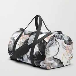 Floral Graphic Duffle Bag