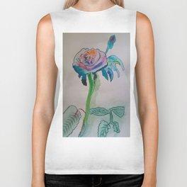 Flower inspiration modern paintings by Christian T. Biker Tank