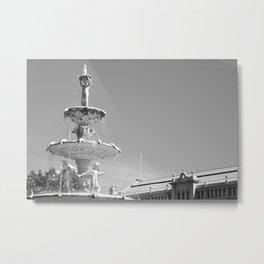 Melbourne monochrome ix Metal Print