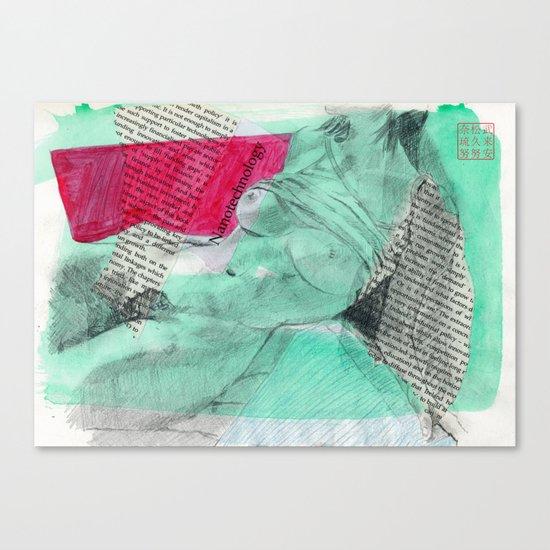 Nanotechnology Canvas Print