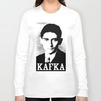 kafka Long Sleeve T-shirts featuring KAFKA by Lestaret