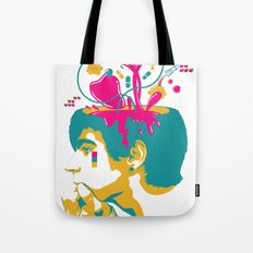 Liquid thoughts:Boy Tote Bag