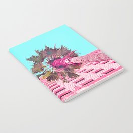 LA Palm Tree Look Up Notebook
