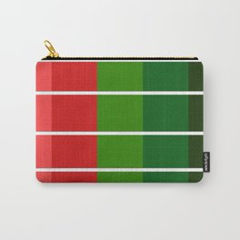 Christmas color bar Carry-All Pouch