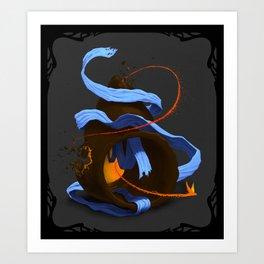 Tiny Firebird Art Print