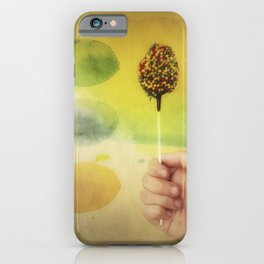Once Upon a Time a Colorful Candy iPhone Case