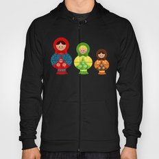 Matrioskas (Russian dolls) Hoody