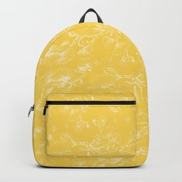 Pohutukawa flowers on gold Backpack