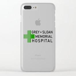 Grey Sloan Memorial Hospital Clear iPhone Case