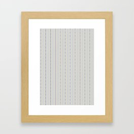 Industry Stripe Framed Art Print