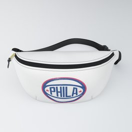 Phila Retro Ball - Blue Fanny Pack