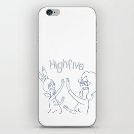 high 5 iPhone Skin