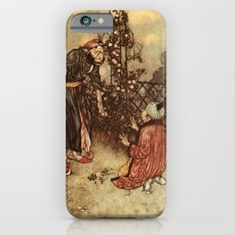 He Dropped The Rose by Edmund Dulac iPhone Case