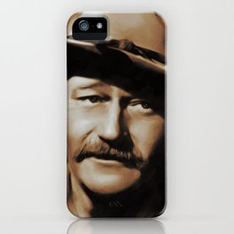 Hollywood Legends, John Wayne iPhone Case