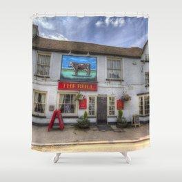 The Bull Pub Theydon Bois Shower Curtain