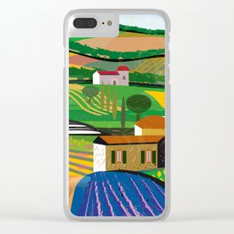 Farm House Clear iPhone Case