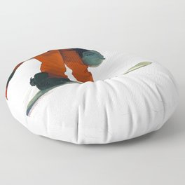 Ready to Ride! - Snowboarder Floor Pillow