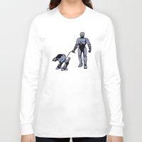 robocop Long Sleeve T-shirts featuring Robocop by dutyfreak