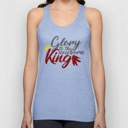 Glory To The Newborn King Hark Herald Angels Unisex Tank Top