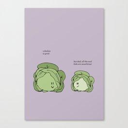 Sauerkraut Recipe Canvas Print