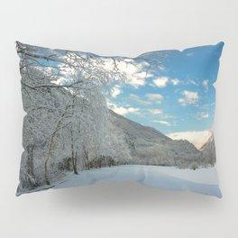Sky & Snow Pillow Sham