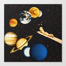 Planetary dream Canvas Print