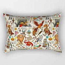 Brave Girl Rectangular Pillow