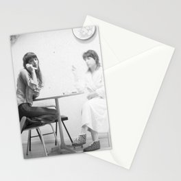 two sisters Stationery Cards
