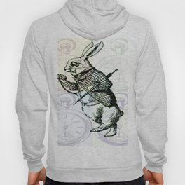 White Rabbit Time Hoody