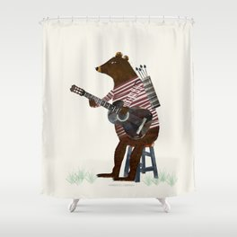 guitar song Shower Curtain